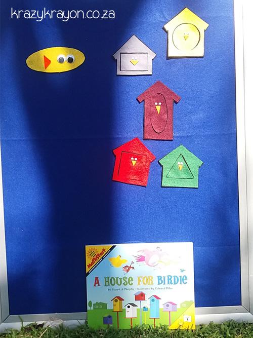 A house for Birdie Felt Board