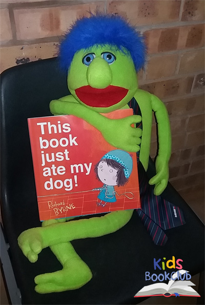 This book just ate my dog